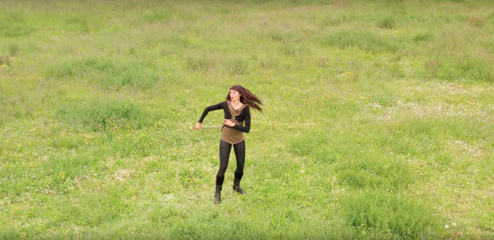 Vidéo de danse avec shashka
